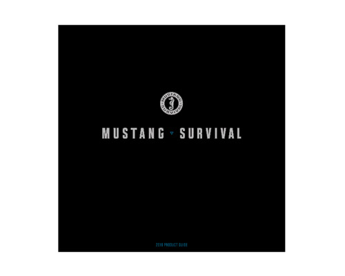 2019 Mustang Survival Product Guide