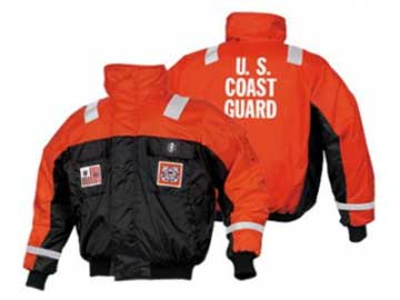 Racing Fire Suits >> MJ6214 22 USCG Bomber Jacket :: Mustang Survival